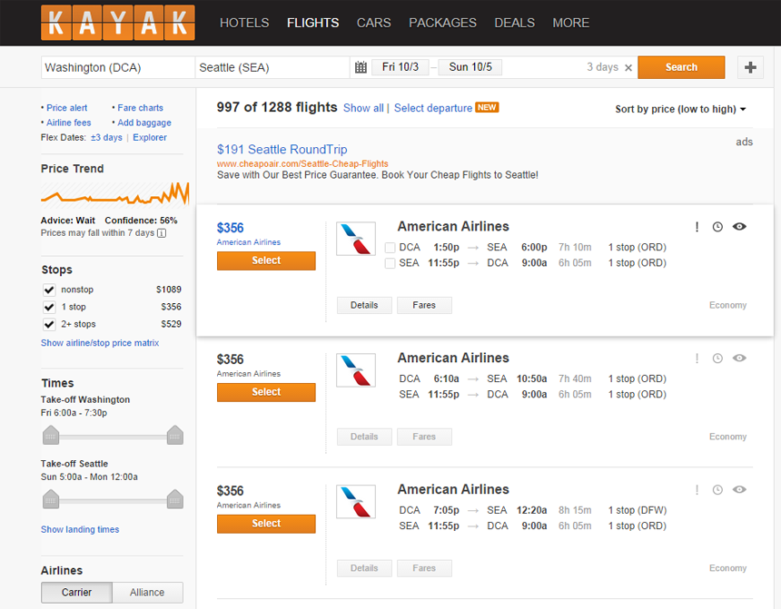 Book cheap flights to Anywhere