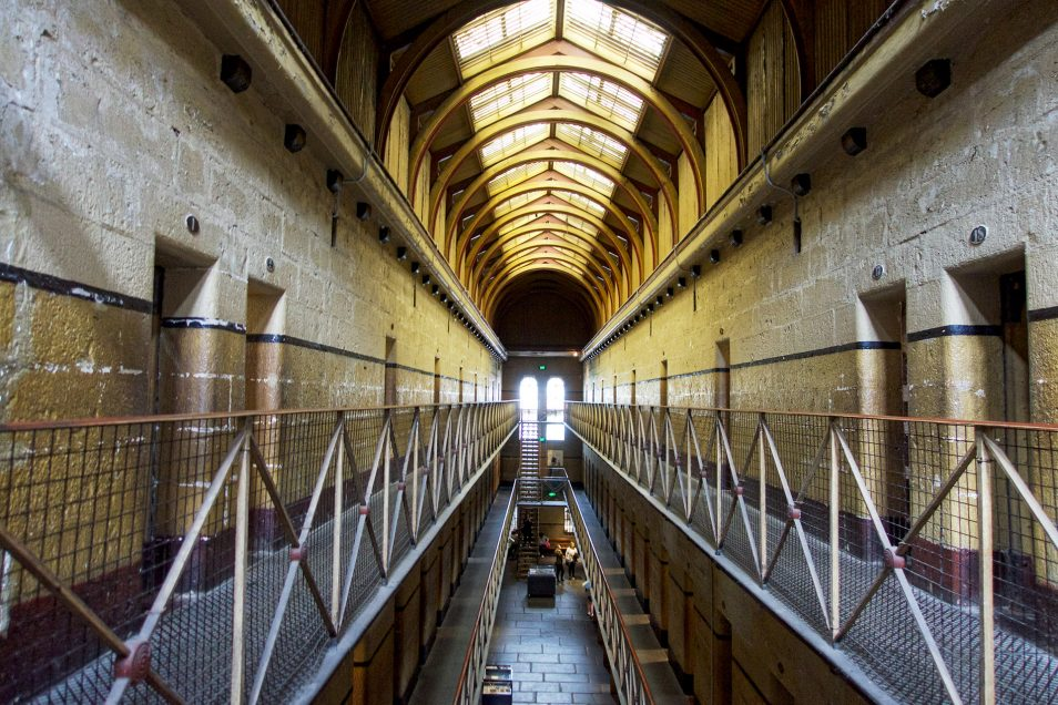 Touring Old Melbourne Gaol